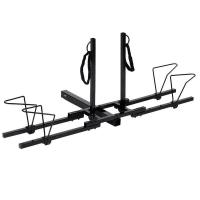 China RACK-14 Heavy Duty 2 Bike Bicycle 2 New Hitch Mount Carrier Platform Rack Car Truck SUV on sale