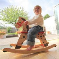 Active play Caramel rocking horse
