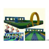Quality sports game inflatable horse racing for sale