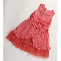 Quality Girls Clothing Kids Girls Bowknots Princess Latest Design Party Dress for sale