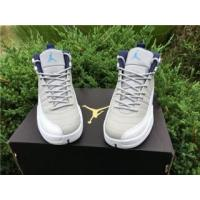 Quality Authentic Air Jordan 12 Wolf Grey GS for sale