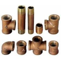 Quality Brass Pipe Fittings 125# Lead Free for sale