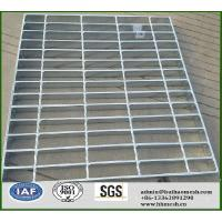 Quality Serrated Bar Steel Grating for Anti-slip Stair Tread for sale