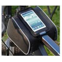 Quality 22004 Waterproof Outdoor Cycling Bicycle Front Tube Pannier,Bike Phone Mount for sale