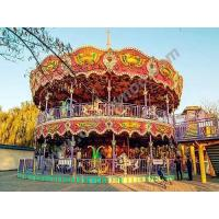 China Children Rides Double Deck Park Carousel on sale