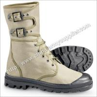 Quality Khaki Canvas Boot for sale
