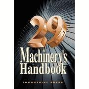 Quality Machinery's Handbook 29th Edition Large Print Machine book for sale