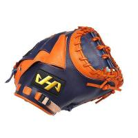 China HATAKEYAMA Japan Pro 32.5 inch Kip Navy Catcher Mitt US$ 209.99 on sale
