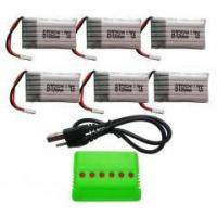 Quality BTG 6PCS 3.7V 680mAh Lipo Battery with for sale
