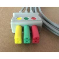 China Mindray/siemens/burdick ECG Leadwire for 3lead Snap/clip on sale