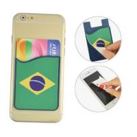 China Silicone 3M Smart Wallet With Screen Cleaner Wiper on sale