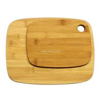 "Quality Bamboo Cutting Board Set - 2-Piece Meidium (11x8.5"") and Small (8x6"") for sale"