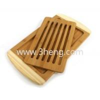 Quality Bamboo Collection 2-Tone Reversible Cutting Board with Removable Magnetic Insert for sale