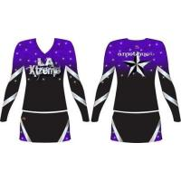 China OEM Custom Sublimation Cheerleading Uniforms Cheer Top Dress on sale
