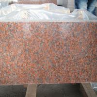China Red Granite Maple Red G562 Granite Slabs and Floor Tiles for sale