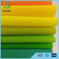 Colorful Polypropylene Spunbond Nonwoven Fabric HS Code in Europe Nonwoven Market for sale