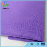 Flame Retardant 100% PP Nonwoven Furniture Non Woven Upholstery Fabric Rolls for Making Wardrobe for sale