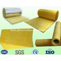China Glass Wool Insulation-ROLL-BOARD-PIPE-BLANKET-FELT for Building Material on sale