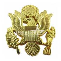 Metal Promotional Gifts Die Struck Without Color Lapel Pin
