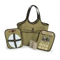 Buy cheap Picnic Plus Palmetto Two Person Picnic Tote - Olive from wholesalers