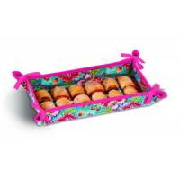 Quality Reversible Hostess Appetizer Tray by Picnic Plus, Madeline Turquoise for sale