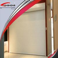 China Remote Control Aluminium/steel/ Metal Insulated Rolling/roller Doors on sale