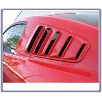 Quality 05-09 Mustang SALE Upper Louvers ABS PLASTIC (PAIR) (OPEN LOUVER 5 SLOT) for sale
