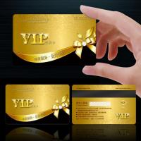 Advertising material VIP card for sale