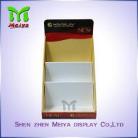 Quality Full Color Printing Cardboard Display Box , retail counter display for Comic Books and Notebook for sale