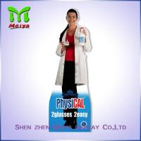 Quality 4 C Offset Printing Paper Material Cardboard Advertising standee for medicine for sale