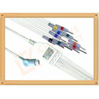 China Philips HP Ecg Patient Cable 10 Lead Wires Needle AHA Philips Ecg Cables on sale