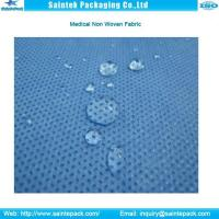 Quality SMS sterilized blue non woven fabric for sale