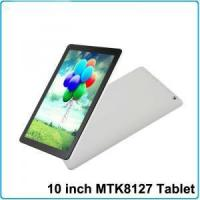 China 10 inch android 4.4 tablet pc MTK8127 quad core support skype facebook on sale