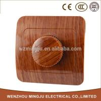 Quality Skillful Manufacture Wooden Light Dimmer Switch for sale