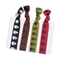 China Yusen-Nylon Elastic Hair Band-Silk Screen Printed Logo on sale