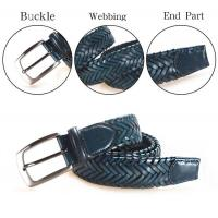 Buy cheap Woven Leather Belts Yusen-Braided Leather Belts-Custom Buckle from wholesalers
