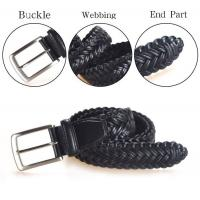 Buy cheap Woven Leather Belts Yusen-Woven Leather Belts-Custom Color and Size from wholesalers