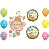 China Welcome Baby Gender Monkey Balloons on sale