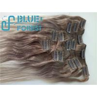 Quality Double Drawn Clip In Brazilian Hair Extension Large Stocks Any Color Size 8-30inch Customization Ava for sale