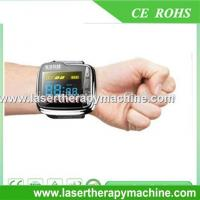 Buy cheap lllt cold laser therapy wrist watch reduce high blood pressure from wholesalers