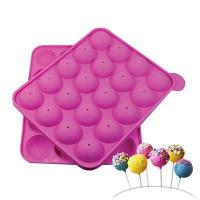Quality Standard Cake Pop Silicone Baking Mold for sale