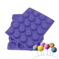 Quality Mini Cake Pop Silicone Baking Mold for sale
