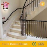Quality Replacement Spindles for Stair Black Metal Round Iron Balusters Architecture for sale