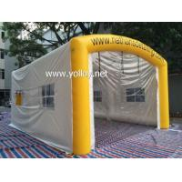 Buy cheap Inflatable Car Tent Mobile Inflatable Car Washing Tent from wholesalers