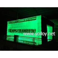 Buy cheap Inflatable Dome Tent Advertising LED Lighting Inflatable Cube Tent from wholesalers