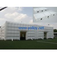 Buy cheap Inflatable Dome Tent Big White Event inflatable Cube Tent from wholesalers