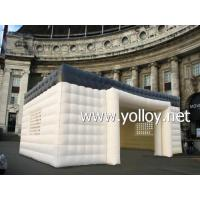 Buy cheap Inflatable Dome Tent Black and White Inflatable Cube Tent from wholesalers