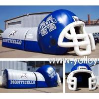 Inflatable Dome Tent Inflatable Football Helmet Tunnel Tent