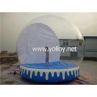 Quality Inflatable Dome Tent Clear Snow Globe Inflatable Dome for sale