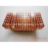 China A0-heatsinks Color anodized extrusion heatsink with screw on sale